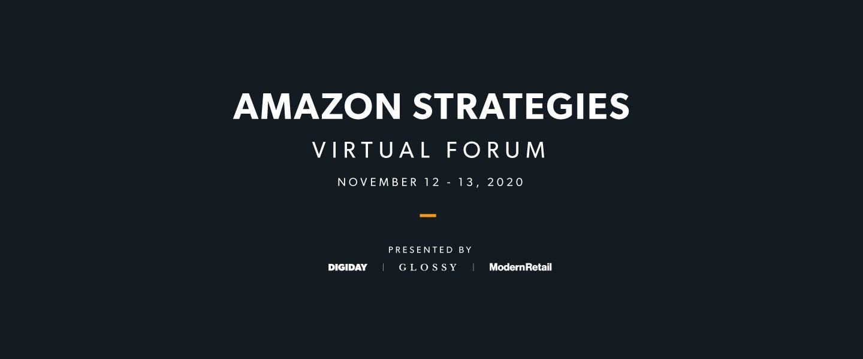 Amazon Strategies Virtual Forum