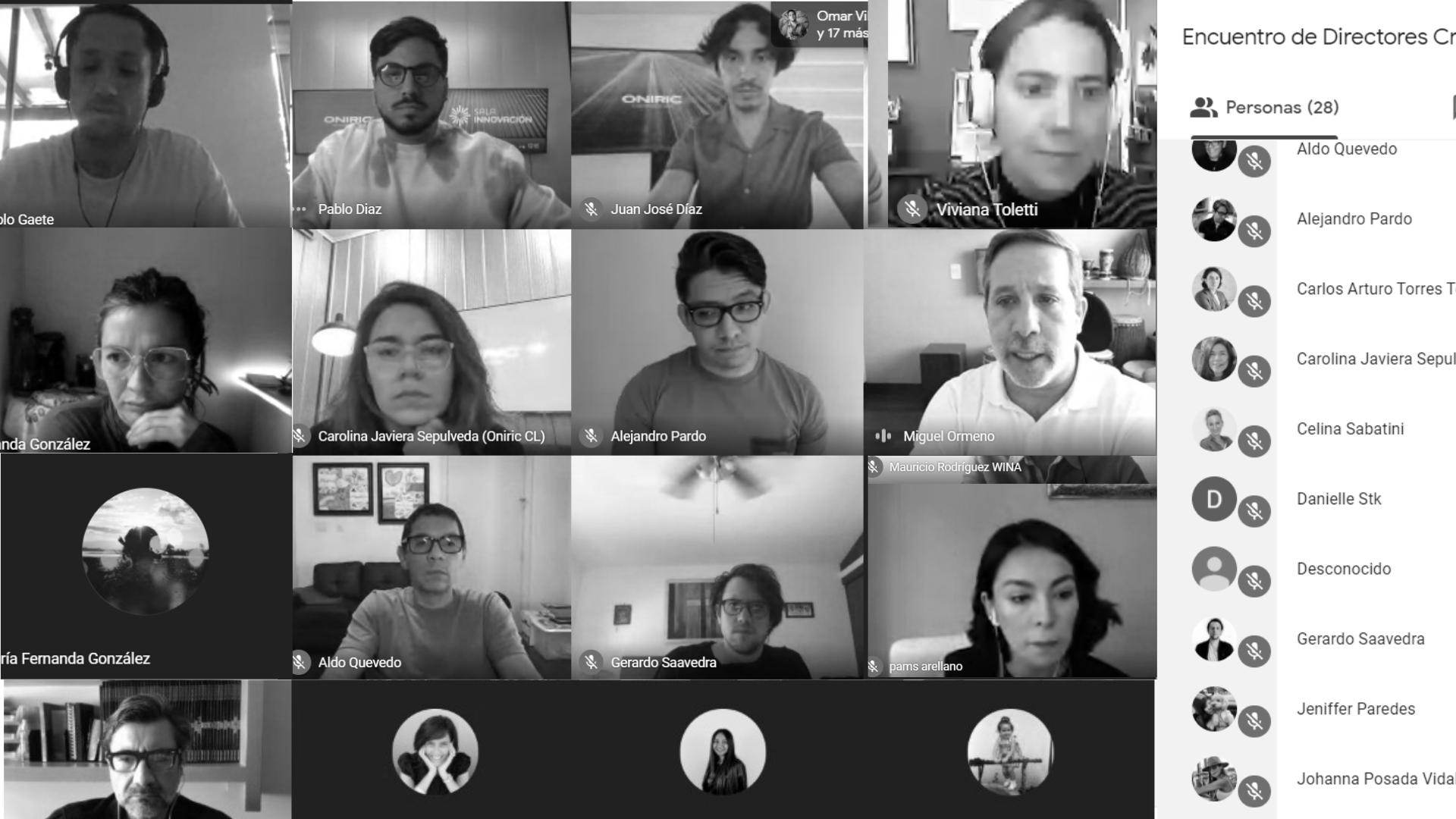 Constellation Network Online forum with creative directors