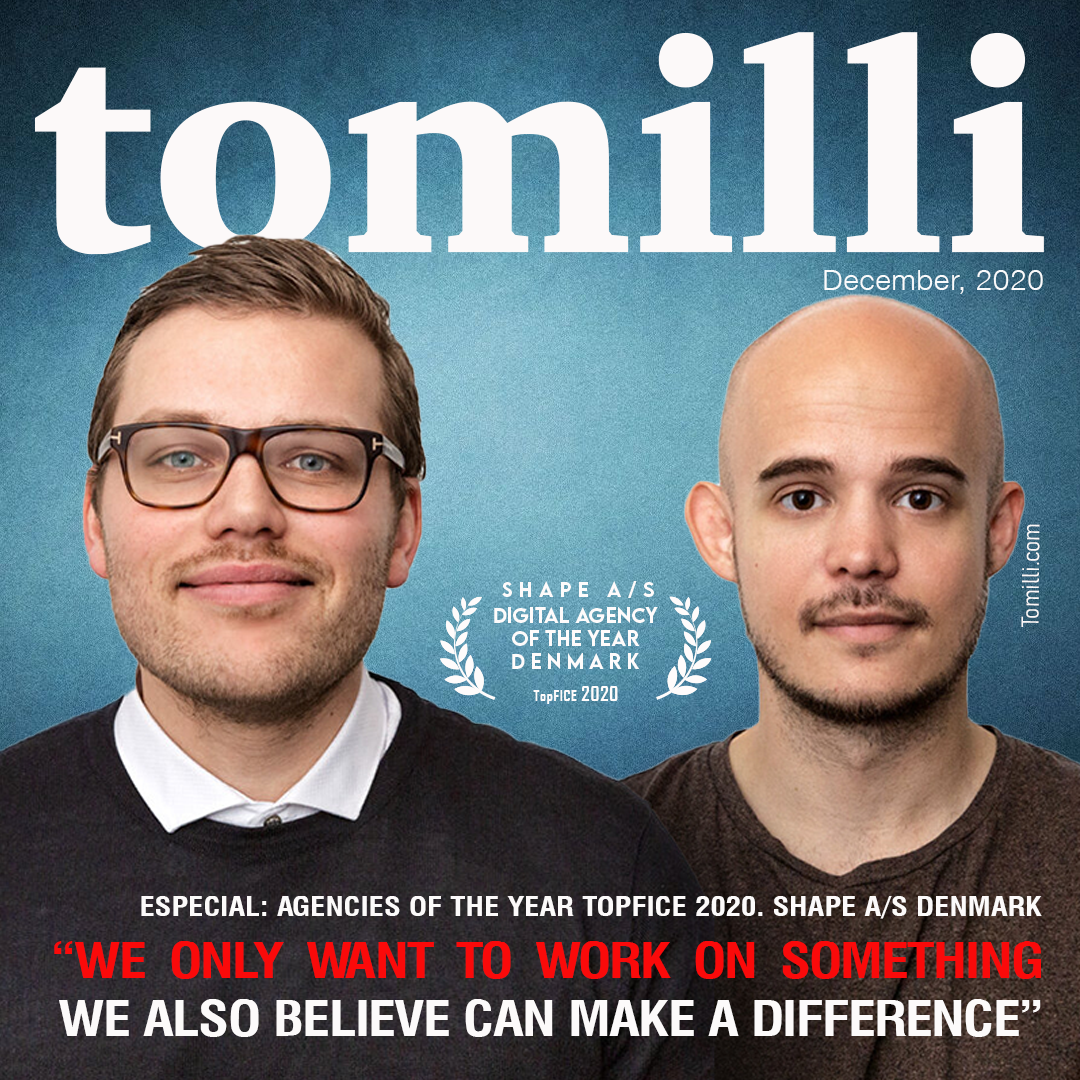 """Special: Agencies of the year TopFICE, Shape A/S Denmark """"We only want to work on something we also believe can make a difference"""""""