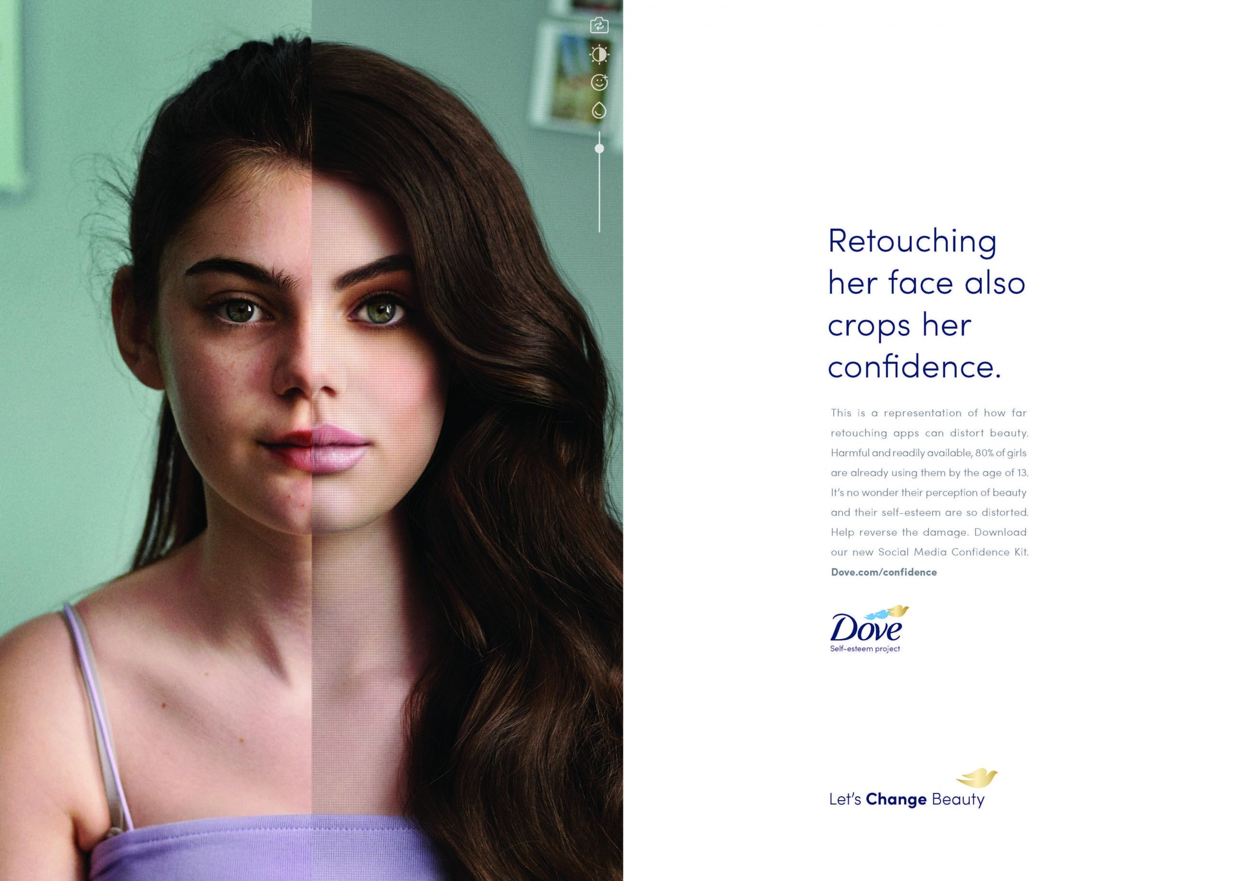 Dove and Reverse selfie: The campaign that will give a lot to talk about