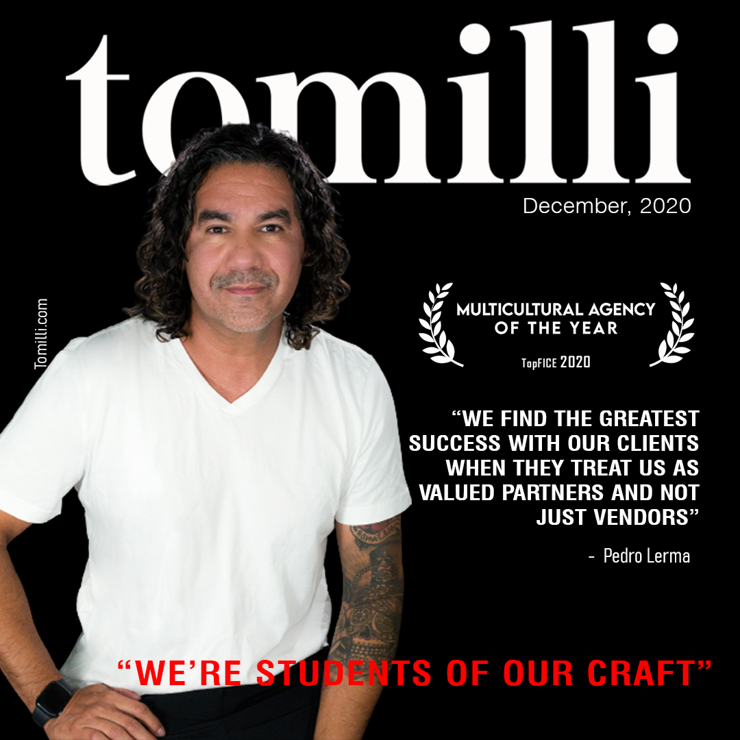 """Special: Agencies of the year. Lerma, Multicultural Agency of the Year – USA """"We're students of our craft"""""""