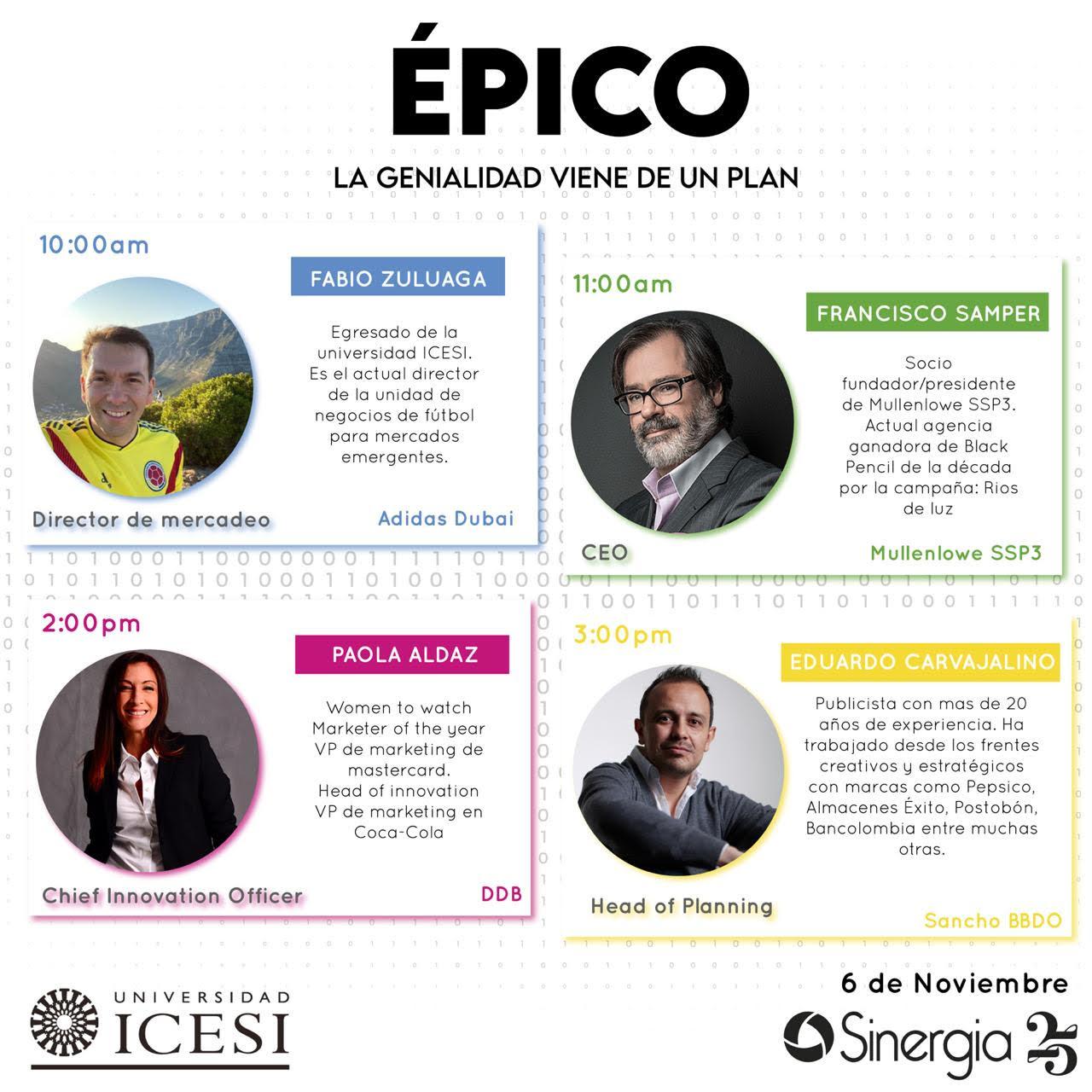 SINERGIA 25 ÉPICO (online)