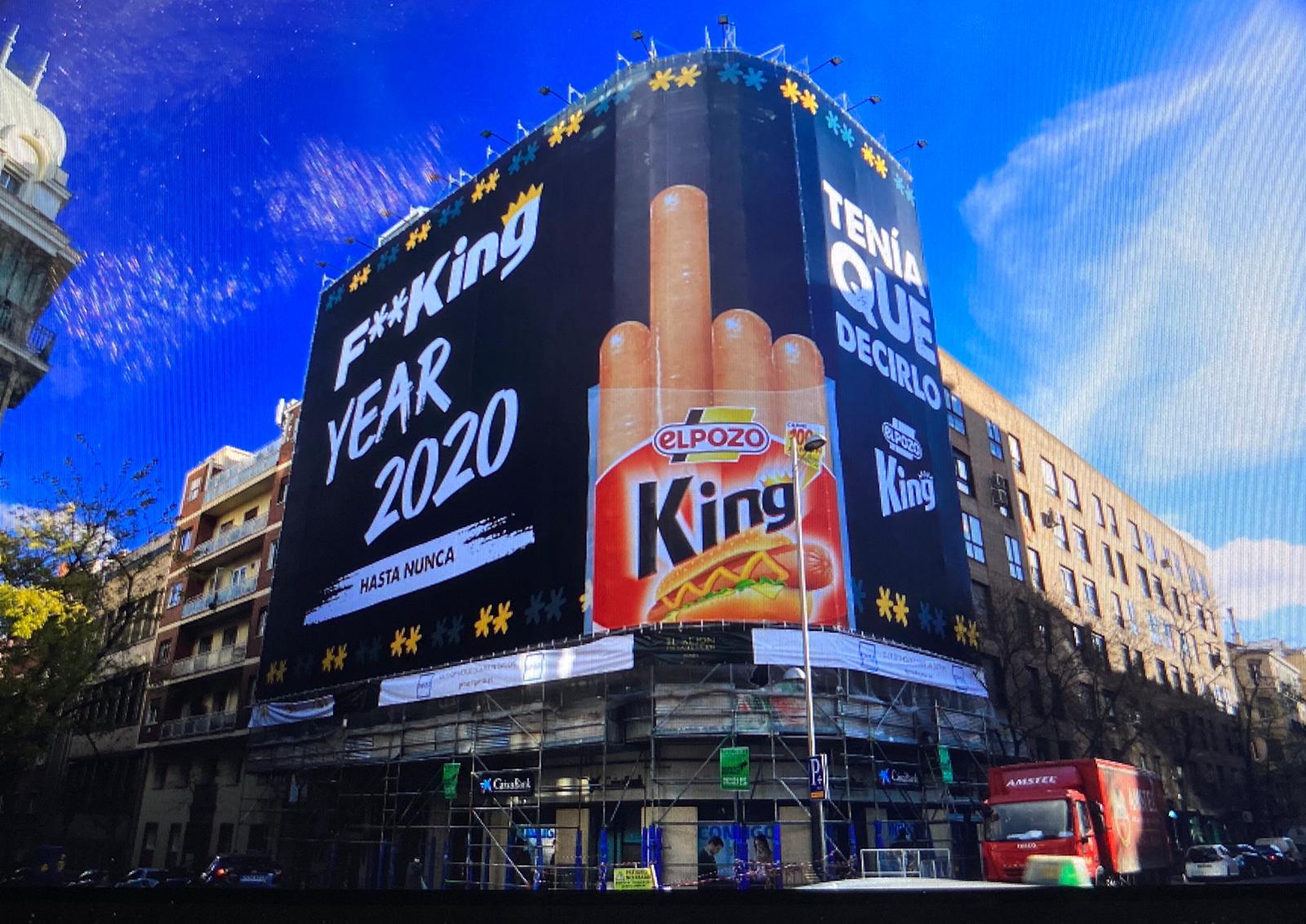 RK People firma la idea creativa   para despedir el año de elPozo KING