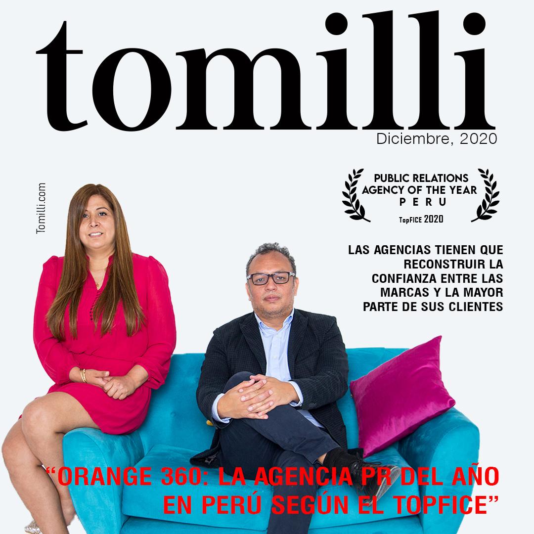 Orange 360: la agencia PR del año en Perú según el TopFICE