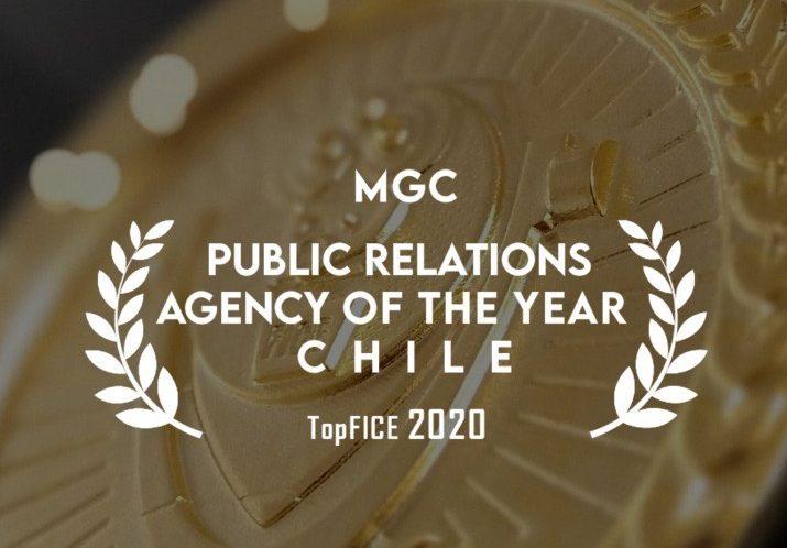 MGC elegida como Agencia de PR del año en Chile
