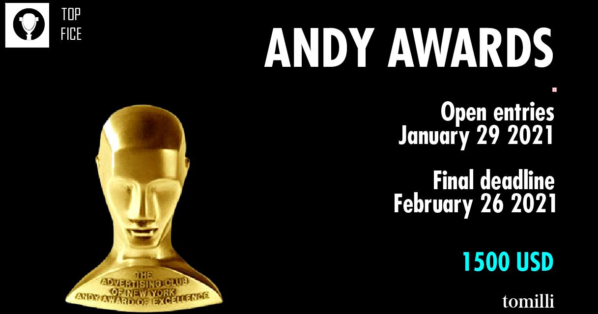 Fechas claves para inscripciones de los premios ANDY