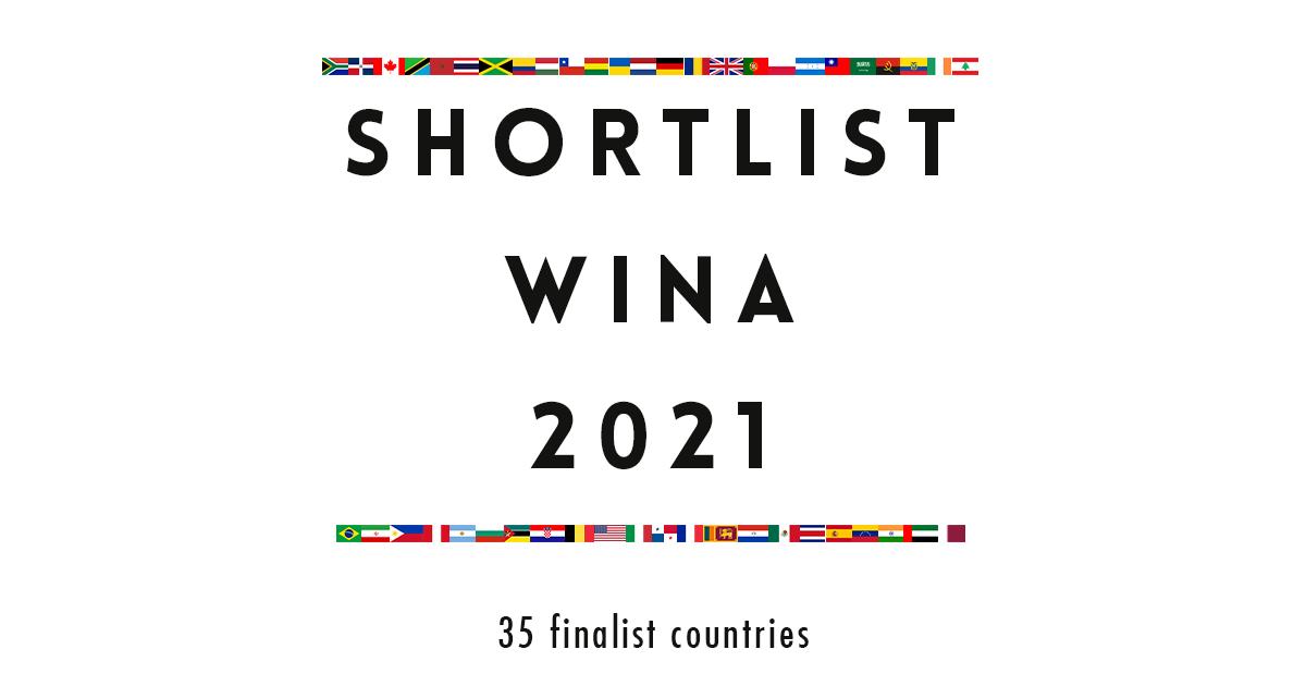 WINA 2021 anuncia su shortlist