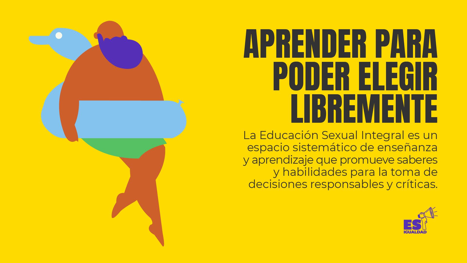 Amnistía internacional lanza esigualdad  con el objetivo de garantizar la educación sexual integral